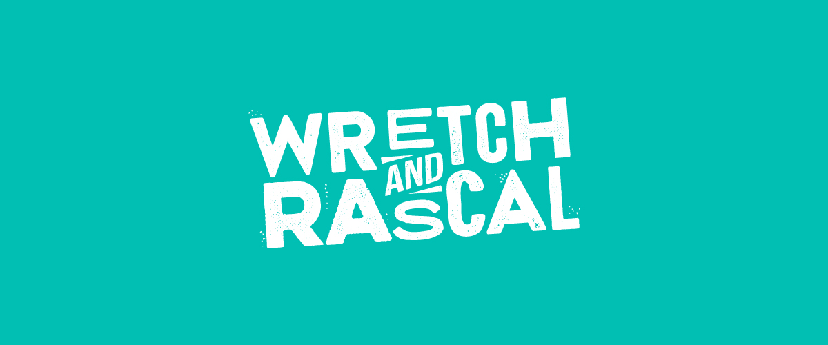 Wretch & Rascal photo booth logo design by Root Studio