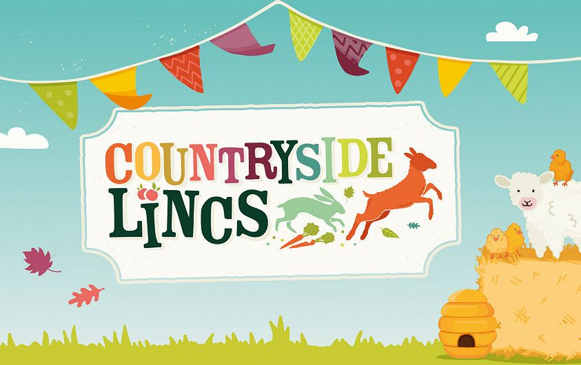 Countryside Lincs kids event branding