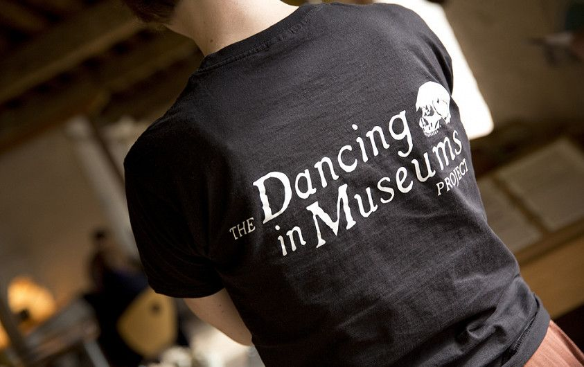 Dancing in Museums logo (photo by Steve Hatton of Electric Egg)