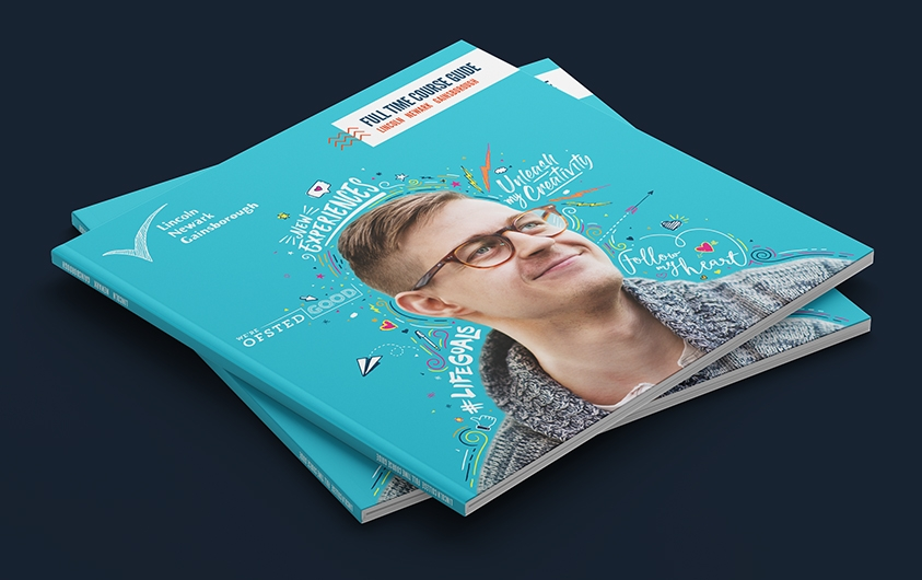Lincoln College Prospectus & Banner designs