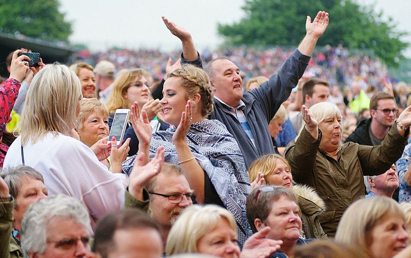 Lincolnshire Showground Outdoor Concert