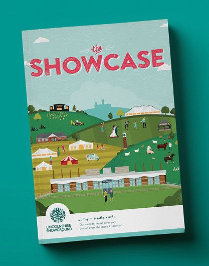 Lincolnshire Showground events brochure design