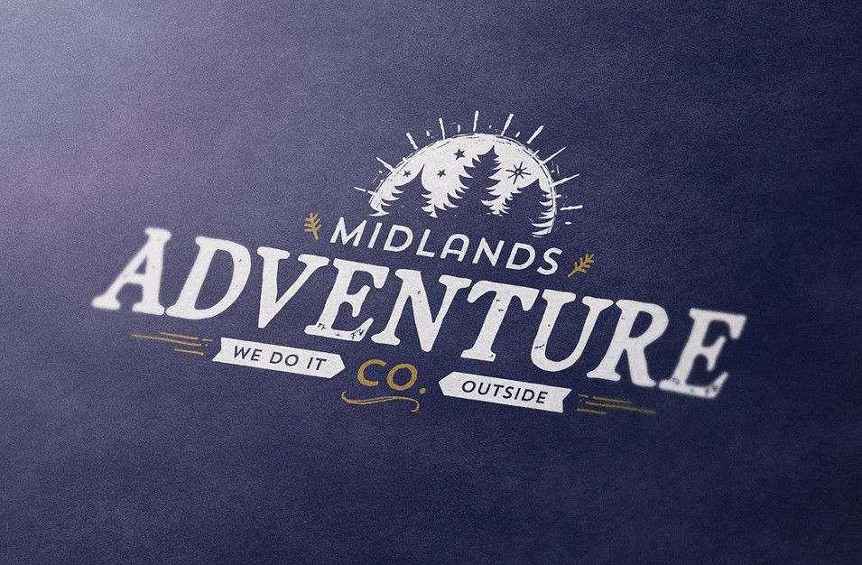Midlands Adventure business branding by Root Studio, Lincoln