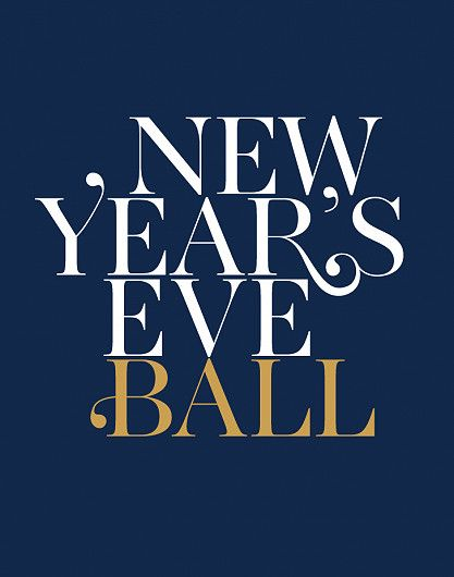 New Year's Eve Ball logo design Lincolnshire Showground