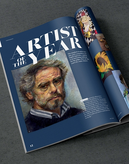 Art magazine design by Root Studio, Lincoln & Leicester