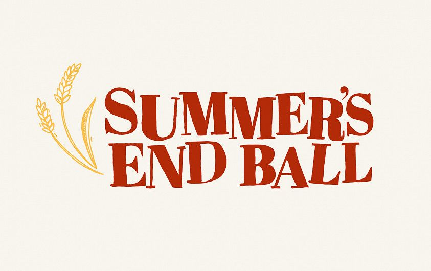 Summer's End Ball logo design Lincolnshire ShowgroundNew Year's Eve Ball logo design Lincolnshire Showground