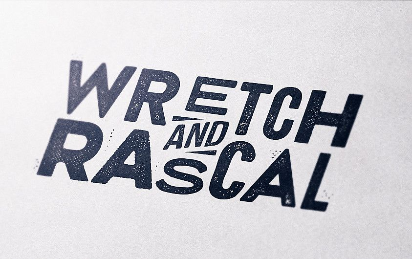 Wretch & Rascal photo booth logo design